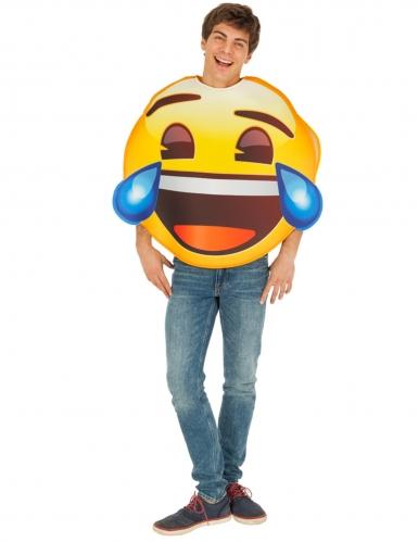 Emoji™ kostume til voksne - Død af grin