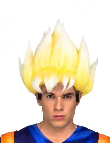 Goku Super Saiyan paryk til voksne - Dragon Ball Z™