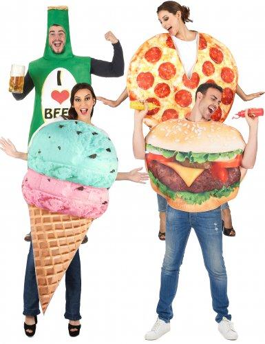 Gruppekostume Fast food
