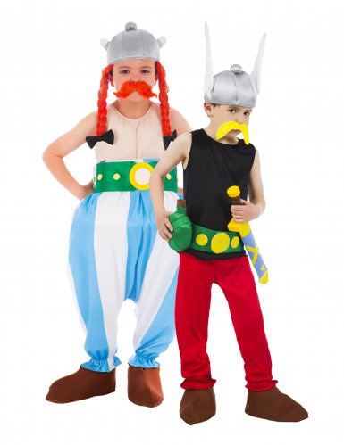 Parkostume Astérix og Obélix til børn