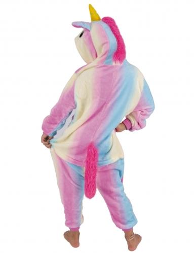 Kostume heldragt enhjørning regnbue barn-1