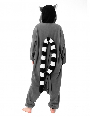 Heldragt Kigurumi™ lemur voksen-2