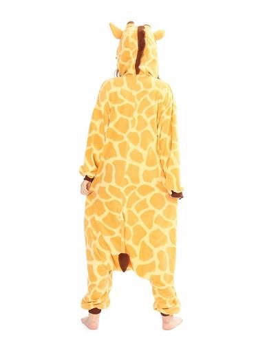 Heldragt Kigurumi™ giraf voksen-1