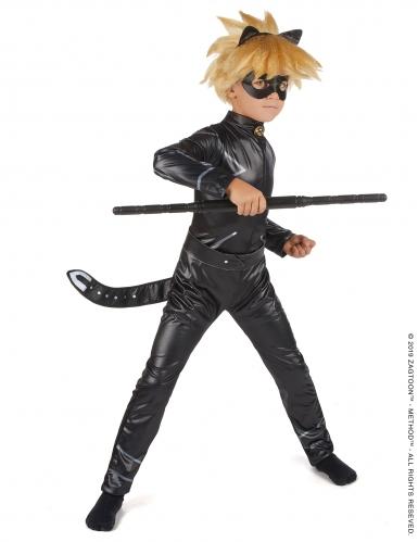 Cat Noir Miraculous™ kostume dreng-2