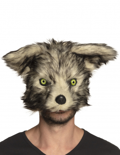 Varulv Maske Plys til voksne