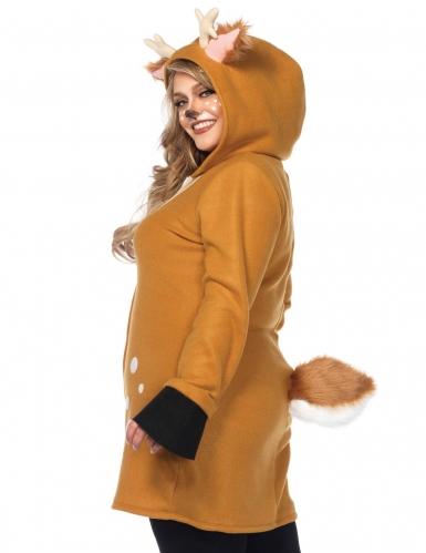 Luksus dådyr kostume stor størrelse kvinder-1