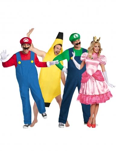 Gruppekostume Mario™ og venner - voksen