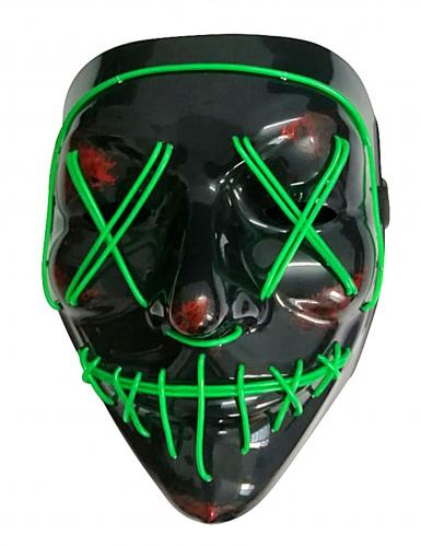 LED maske grønt lys til voksne-1