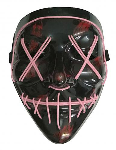 LED maske lilla til voksne-1