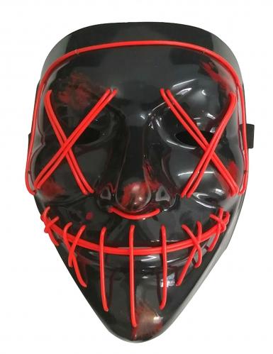 LED maske rødt lys til voksne-1