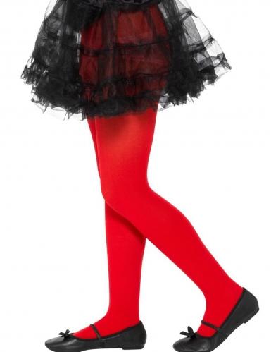 Strømpebukser rød til børn