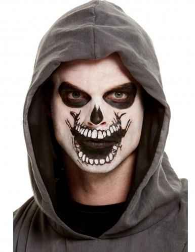 Sminke sæt med tatovering skelet mund tl voksne