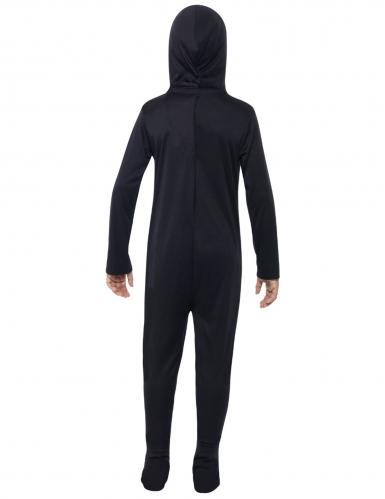 Skelet Kostume sort til børn-1