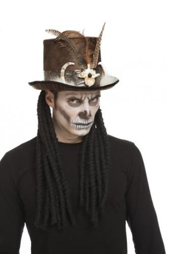 Voodoo Troldmand Hat 59 cm til voksne