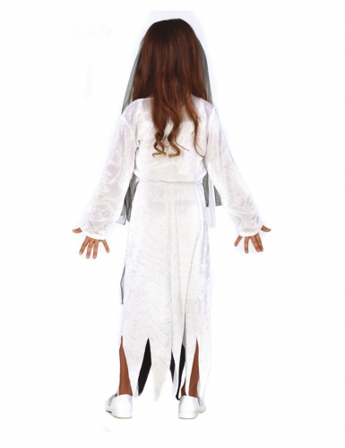 Zombie Kostume ung brudepige til piger-1
