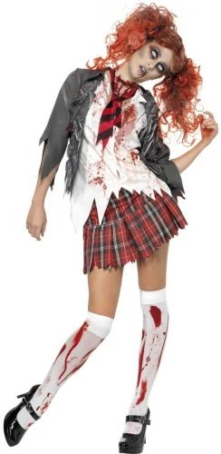 Kostume Kit Zombie Skolepige til kvinder-1
