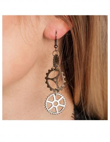 Steampunk øreringe til voksne