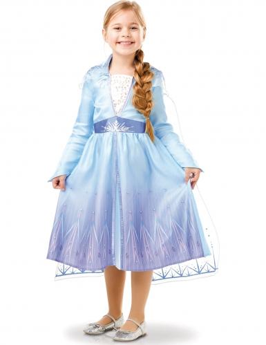 Klassisk Elsa kostume fra Frost 2™ pige