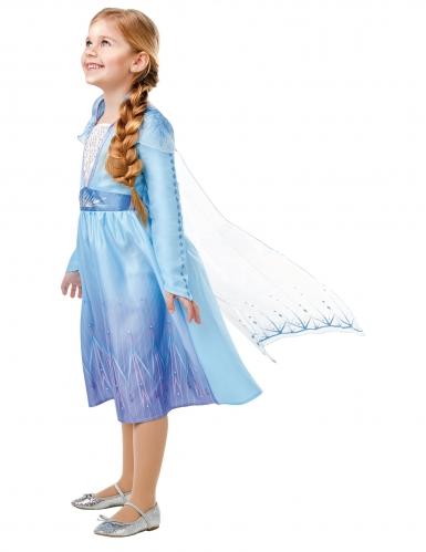 Klassisk Elsa kostume fra Frost 2™ pige-1