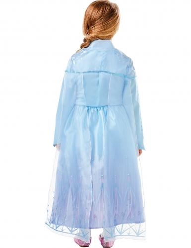 Elsa Luksus kostume Frost 2™ pige-1