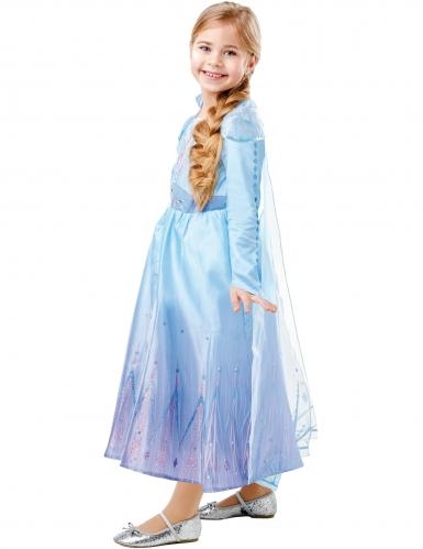 Elsa Luksus kostume Frost 2™ pige-2