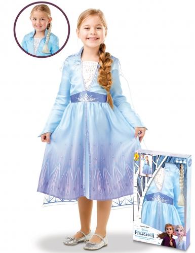 Kostume kit Elsa Frost II™ til piger