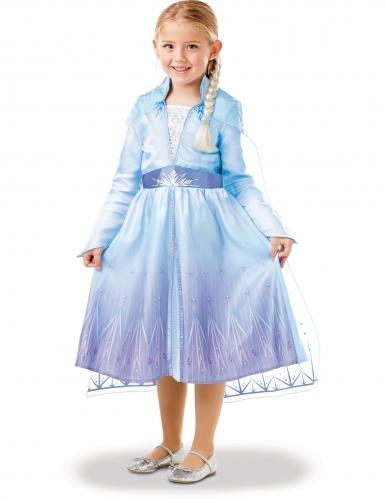 Kostume kit Elsa Frost II™ til piger-3