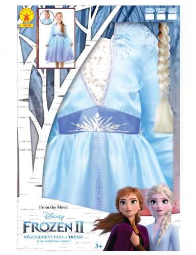 Kostume kit Elsa Frost II™ til piger-4
