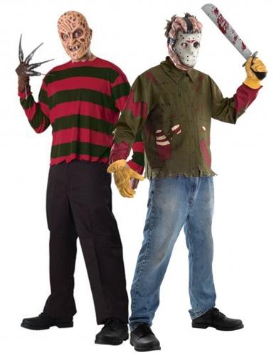 Kostumer til par Freddy mod Jason til voksne