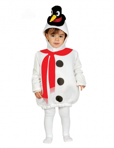Snemand kostume med pingvinhat baby