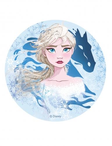 Elsa Frost 2™ spiselig kageprint 20 cm