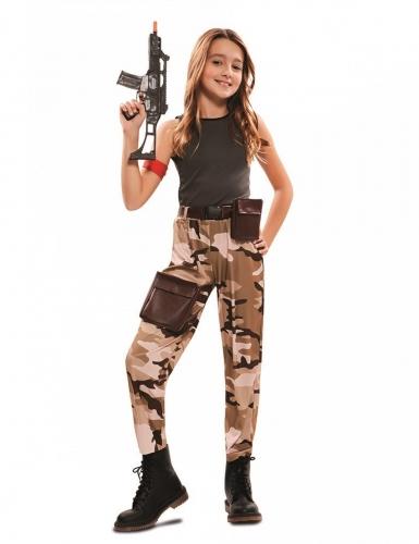 Soldat kostume - pige