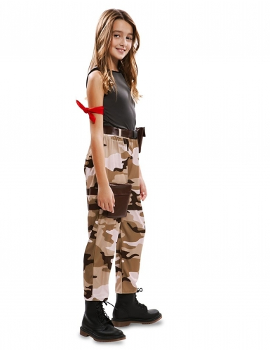 Soldat kostume - pige-1