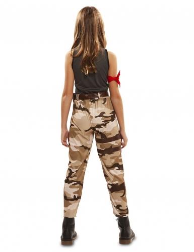 Soldat kostume - pige-2