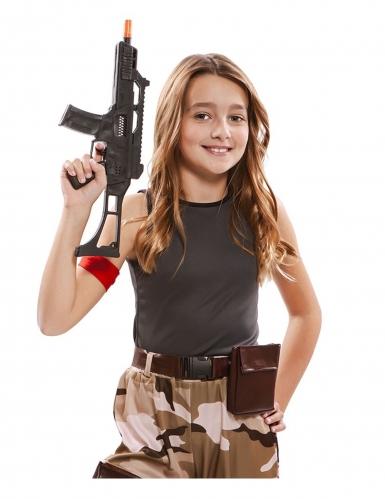 Soldat kostume - pige-3