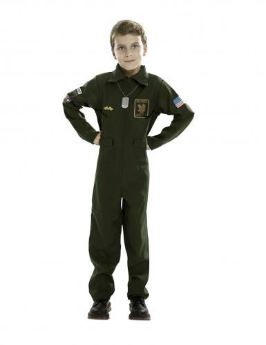 Jagerpilot kostume - barn