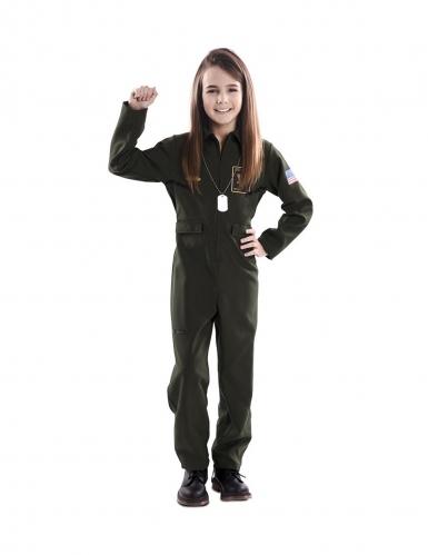 Jagerpilot kostume - barn-1