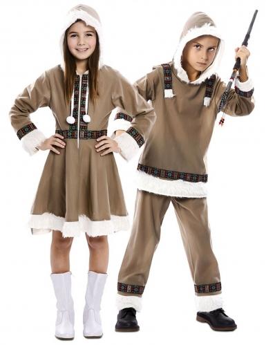 Par kostume eskimo - barn