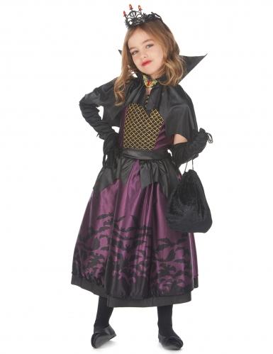 Flagermus kjole kostume - pige-1