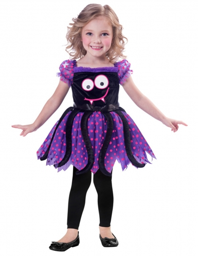 Nuttet edderkop kostume - baby