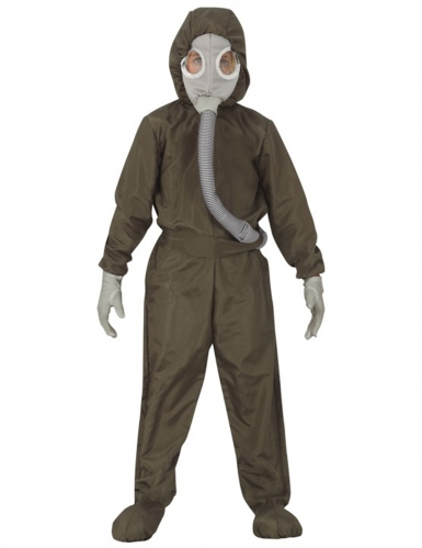 Radioaktiv heldragt kostume - barn