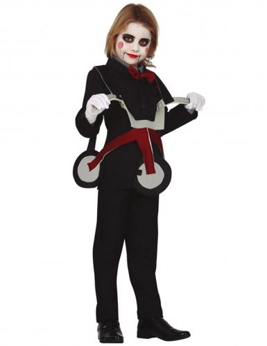 Dukke på tricykel kostume - barn