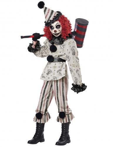 Den skrækkelige klovn kostume - barn-1