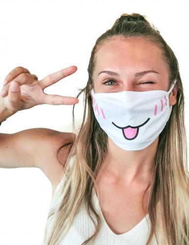 Ansigtsmaske kat - voksen