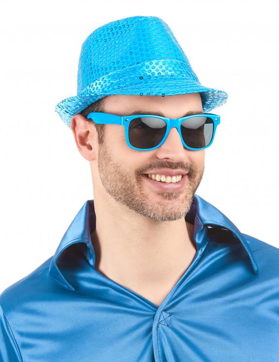 Mstrds solbriller Mumbo Spejl briller, Sølv (Sølv / Blå