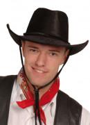 Sort cowboyhat voksen