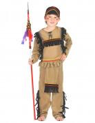 Farverigt indianerkostume til drenge