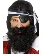 Sort piratskæg voksen