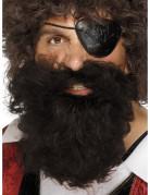 Brunt piratskæg herrer
