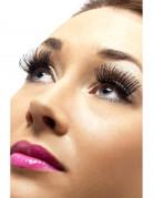 Sorte korte falske øjenvipper voksen
